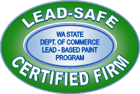 Lead Safe Certified Firm - Washington Sate